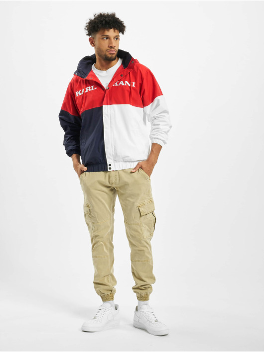 Karl Kani Lightweight Jacket Retro Block Classic red