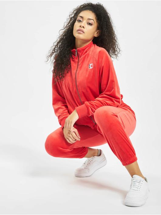 Karl Kani Lightweight Jacket Retro Velvet red