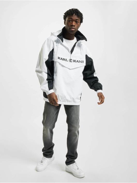 Karl Kani Lightweight Jacket Retro Block white