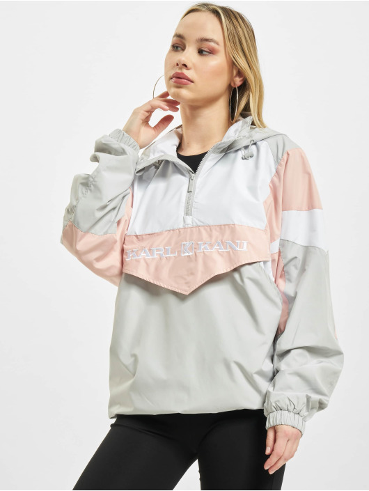 Karl Kani Lightweight Jacket Retro white