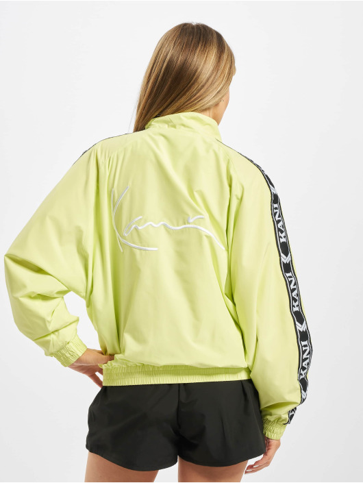 Karl Kani Lightweight Jacket Kk Og Tape Os yellow