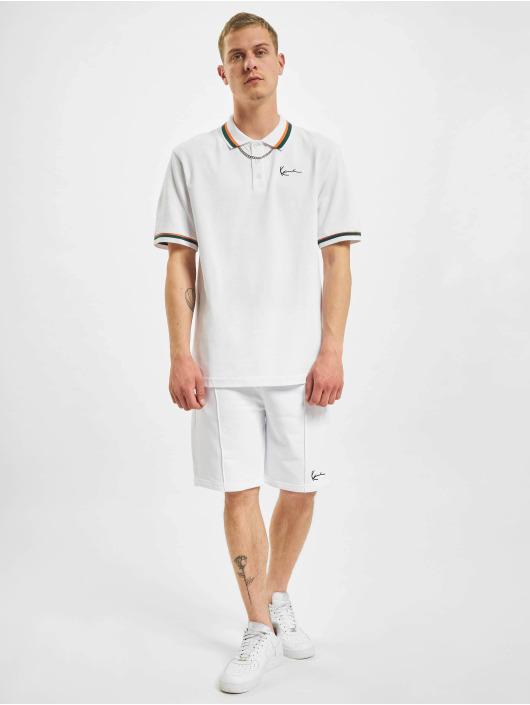 Karl Kani Poloshirt Small Signature Polo weiß