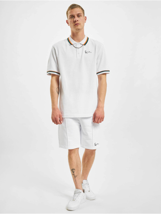 Karl Kani Poloshirts Small Signature Polo hvid