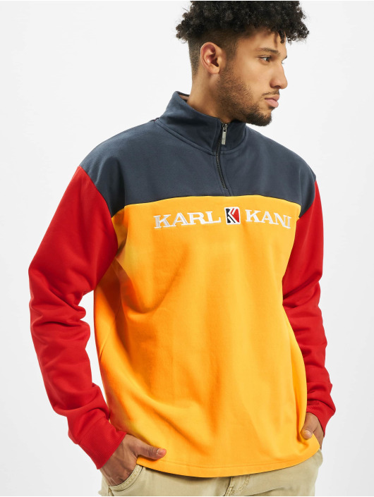 Karl Kani Pullover Retro Block orange