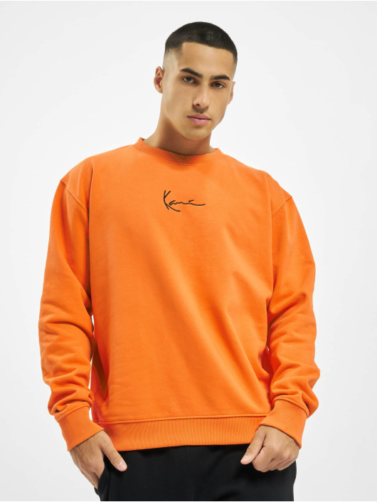 Karl Kani Pullover Kk Small Signature orange