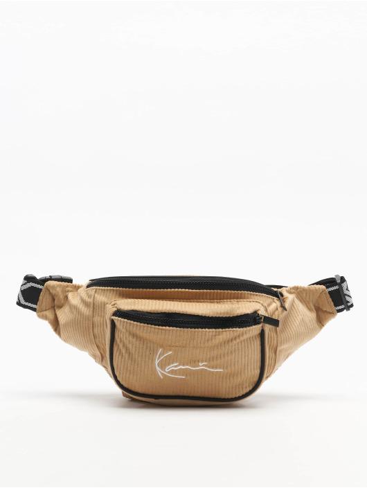 Karl Kani Sac Signature Cord Tape brun