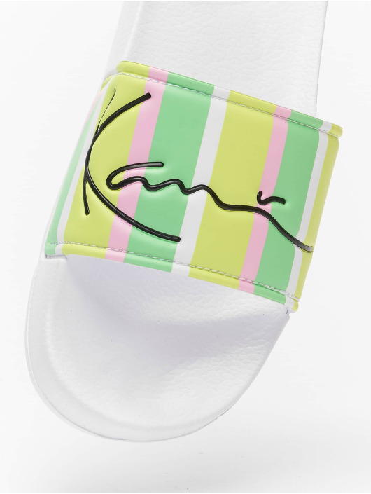 Karl Kani Sandaalit Signature Stripe Pool vihreä