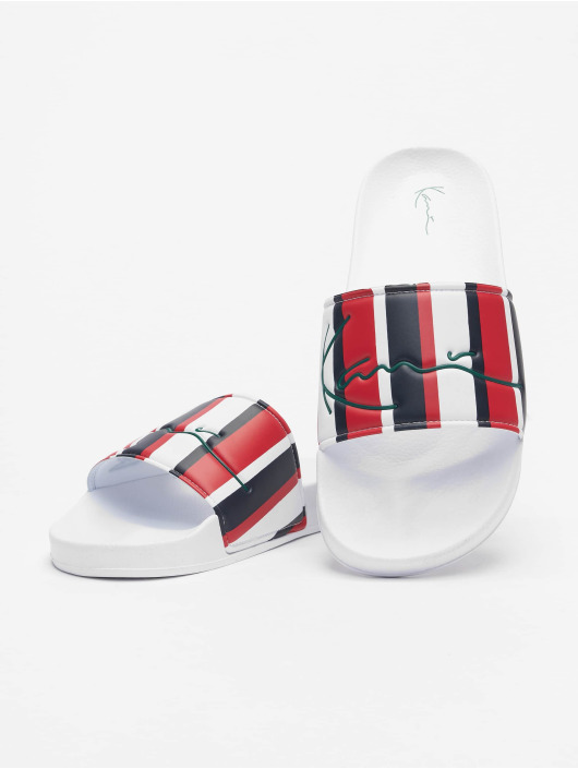 Karl Kani Sandal Signature Stripe Pool blå