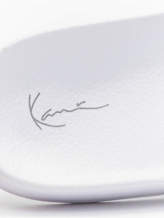 Karl Kani Sandalen Signature Stripe Pool rot