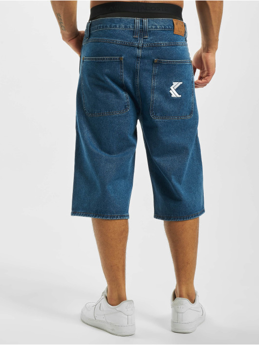 Karl Kani Short Denim blue