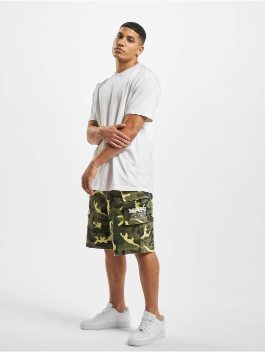 Karl Kani Short Kk Signature Camo green