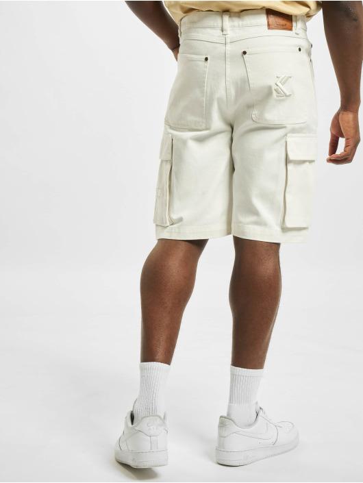 Karl Kani Shorts Og Cargo bianco