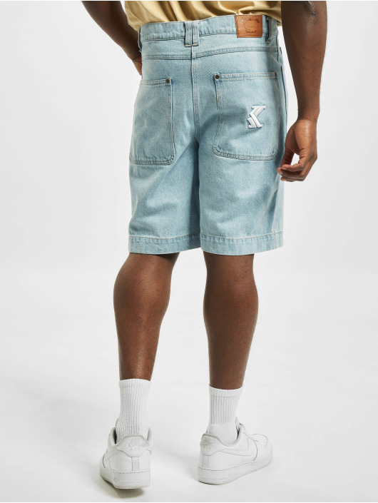 Karl Kani Shorts Og Rinse Denim blau