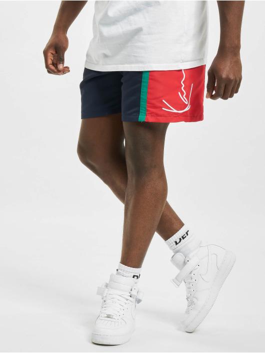 Karl Kani shorts Signature Block blauw