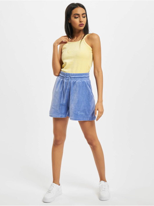 Karl Kani shorts Signature Nicki blauw
