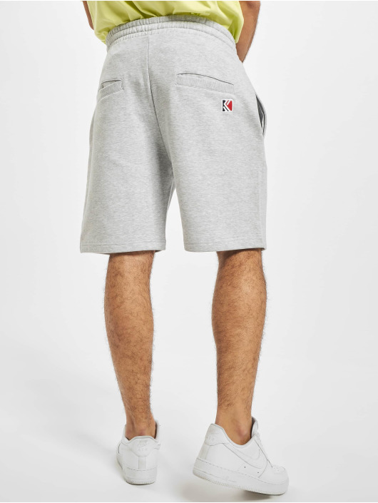 Karl Kani shorts Kk Signature grijs