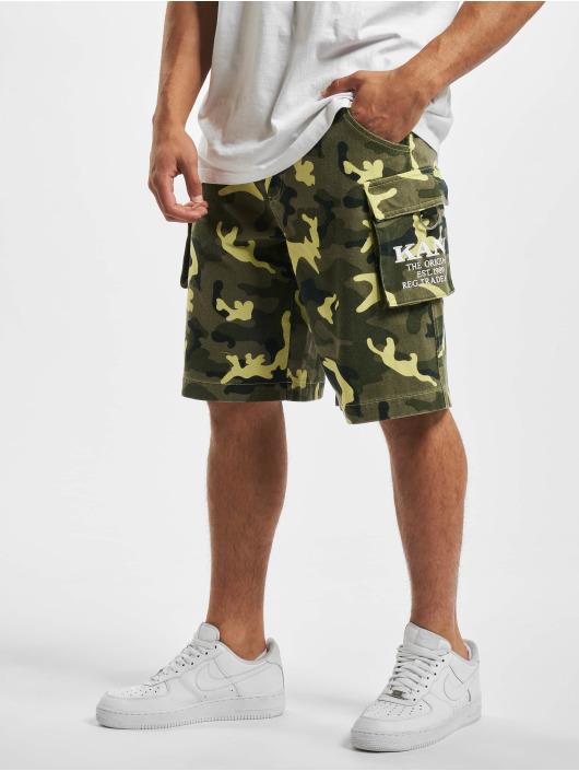 Karl Kani shorts Kk Signature Camo groen