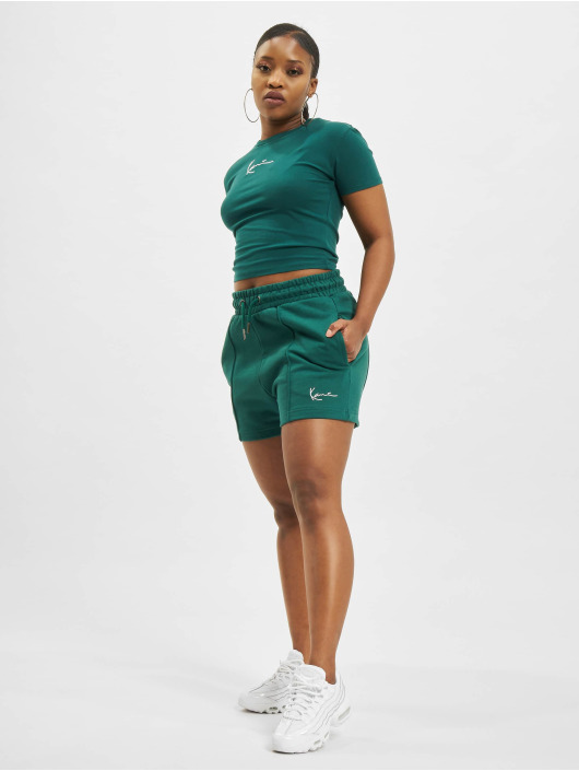Karl Kani shorts Signature groen