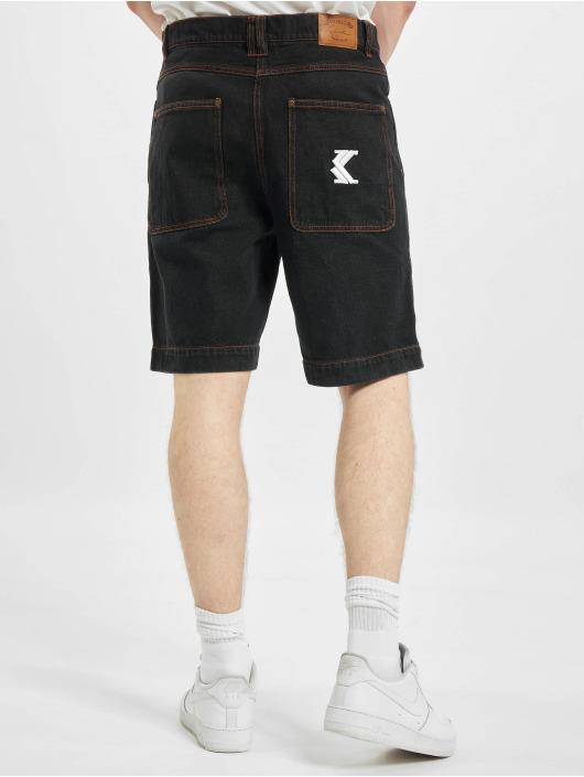 Karl Kani Shorts Og Rinse Denim nero