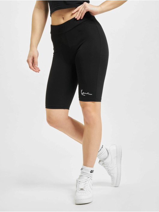 Karl Kani Shorts Small Signature Cycling weiß