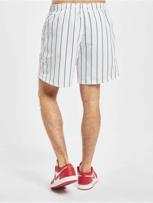 Karl Kani Shorts Originals Pinstripe weiß