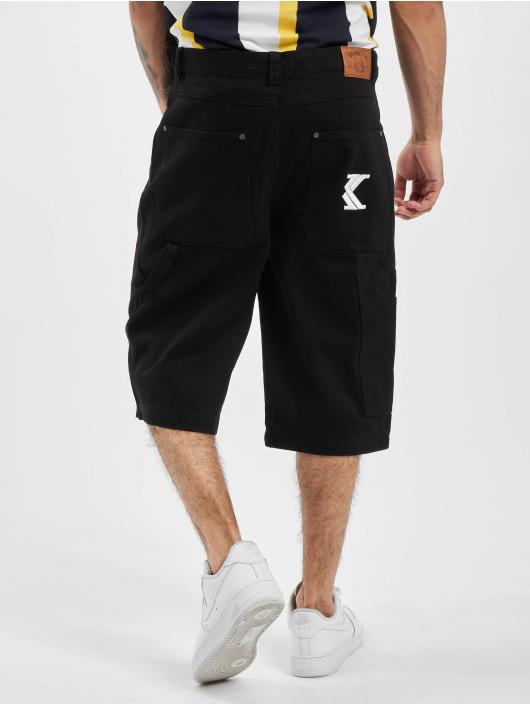 Karl Kani shorts Kk Denim zwart
