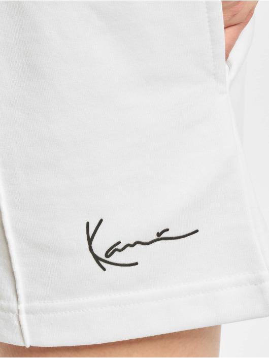 Karl Kani Shortsit Signature valkoinen