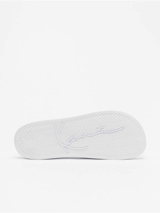 Karl Kani Slipper/Sandaal Signature Pool wit