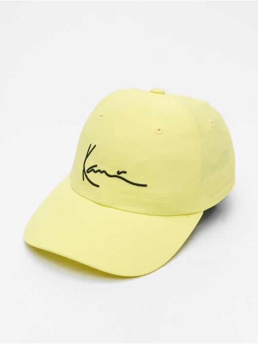 Karl Kani Snapback Cap Signature yellow