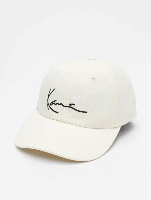 Karl Kani Snapback Caps Signature bialy