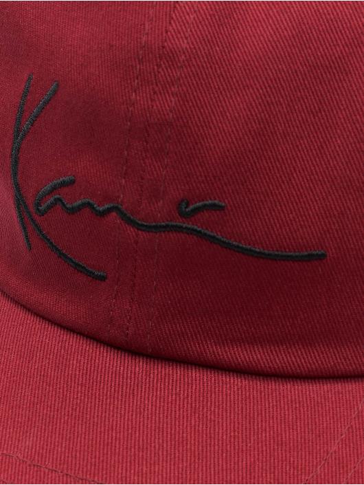 Karl Kani Snapback Caps Signature rød