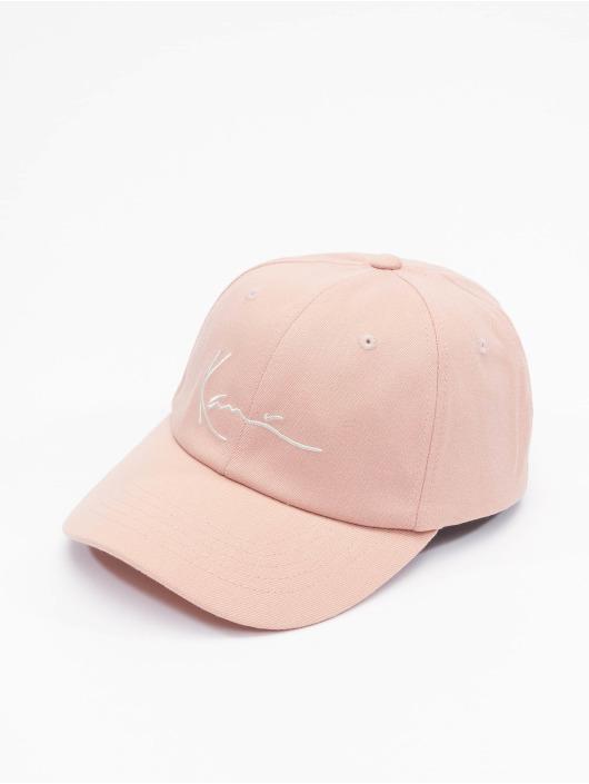 Karl Kani Snapback Caps Signature roosa