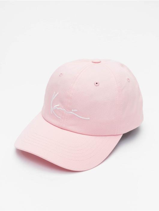 Karl Kani Snapback Caps Signature rózowy