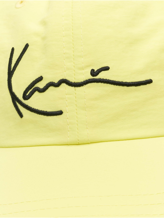Karl Kani Snapback Caps Signature zólty
