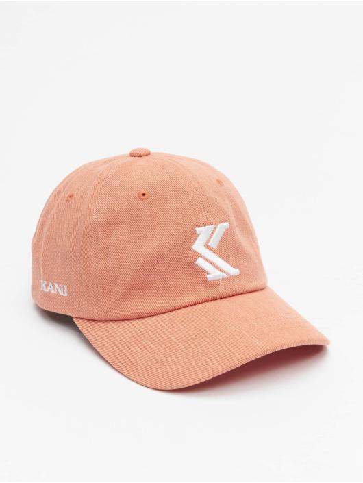 Karl Kani Snapback Denim pink
