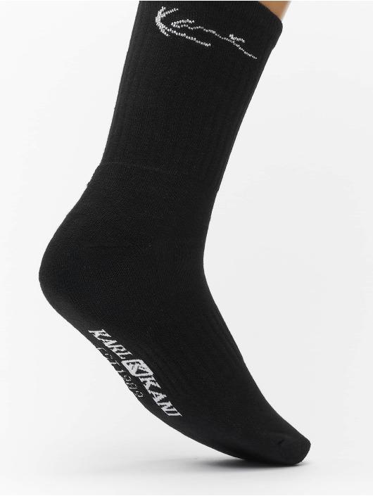 Karl Kani Socken 2 Pack Signature Crew schwarz