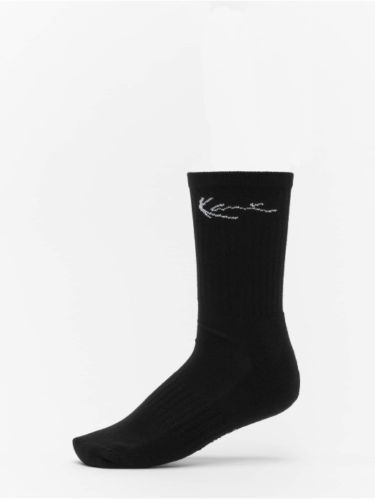 Karl Kani Socks 2 Pack Signature Crew black