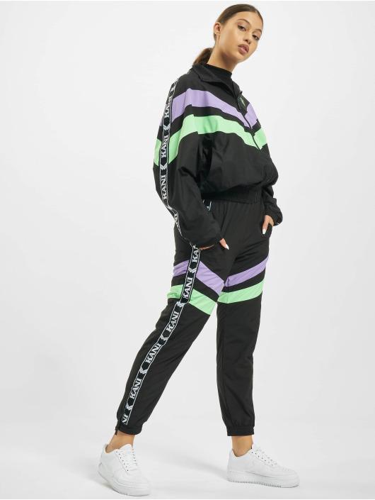 Karl Kani Spodnie do joggingu Kk Tape Block czarny