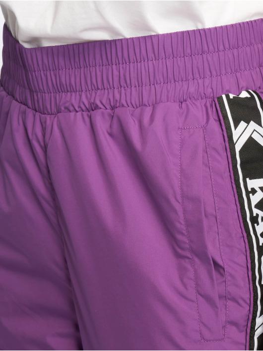 Karl Kani Spodnie do joggingu Tape fioletowy