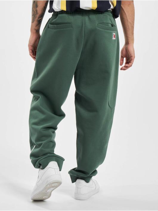 Karl Kani Spodnie do joggingu Kk Signature Retro zielony