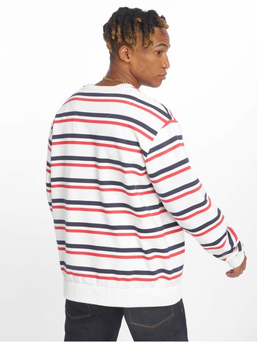 621729 Blanc Kani Sweatamp; Homme Pull Signature Stripe Karl 54Aqj3LcR