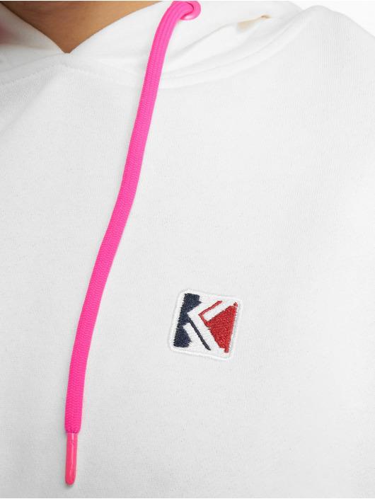 Karl Kani Sweat capuche Retro Block blanc