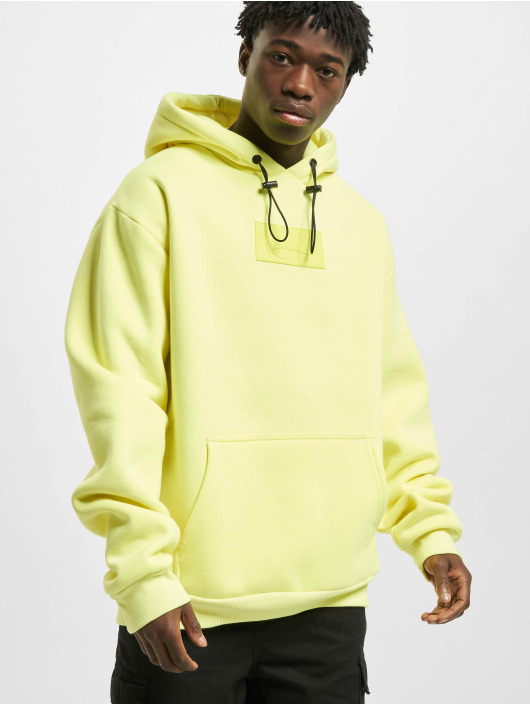 Karl Kani Sweat capuche Small Signature Box jaune