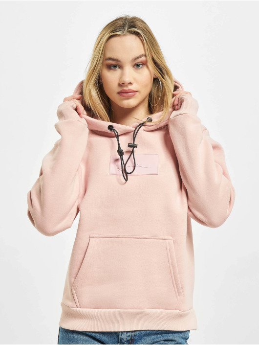 Karl Kani Sweat capuche Small Signature Box rose
