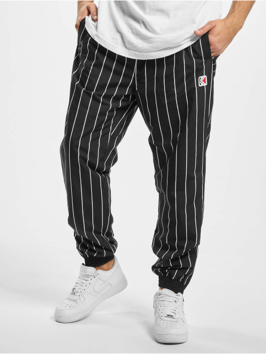 Karl Kani Sweat Pant Kk Og Pinstripe black