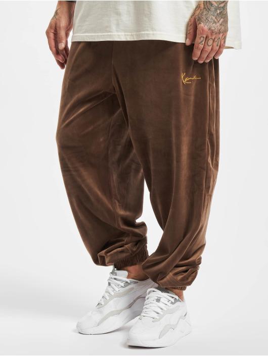 Karl Kani Sweat Pant Small Signature brown