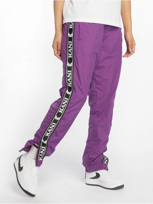Karl Kani Sweat Pant Tape purple