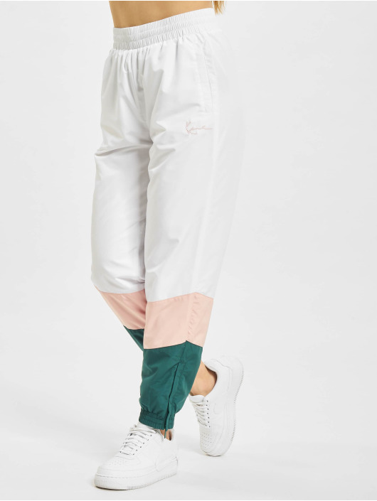 Karl Kani Sweat Pant Signature Block white