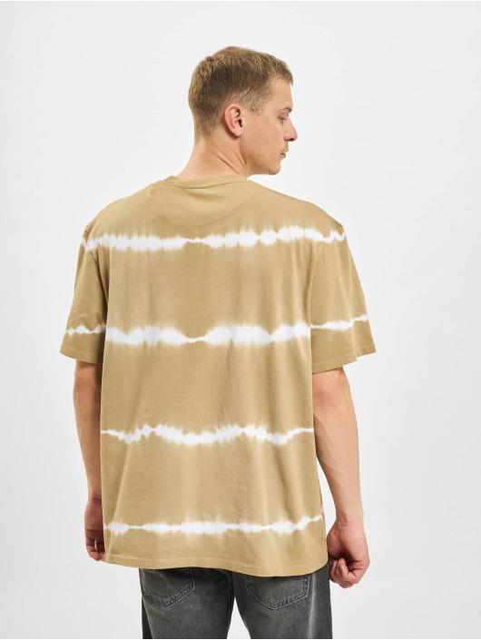Karl Kani T-paidat Signature Tie Dye beige