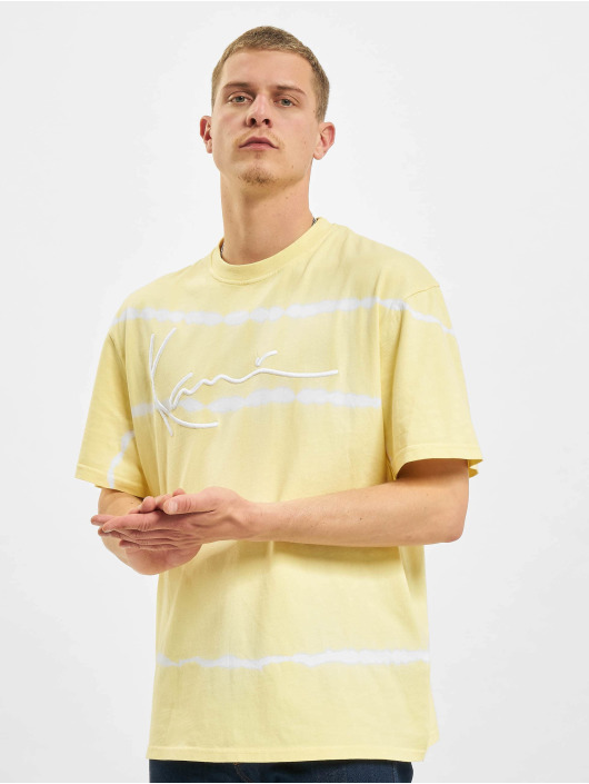 Karl Kani T-paidat Signature Tie Dye keltainen